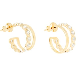 Tada & Toy Lazy Girl Hoops Gold
