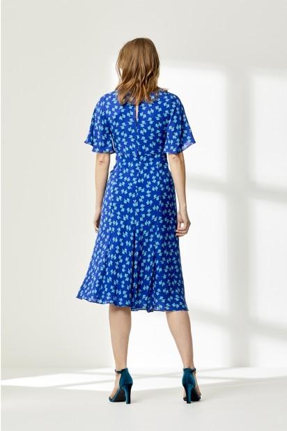 Libelula Jessie Dress in Blue Hiawatha Print Blue
