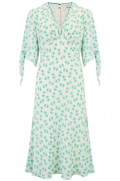 Libelula Tamara Dress in Turquoise Hiawatha Print Turquoise