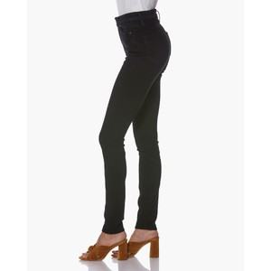 Paige Margot High Rise Jeans in Black Shadow