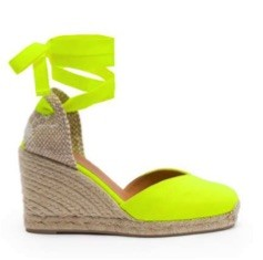 Castañer Chiara 8 canvas and jute espadrilles Yellow