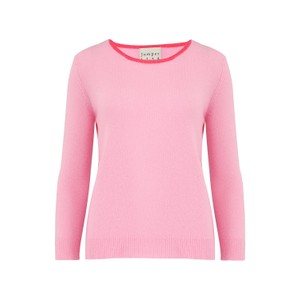Jumper 1234 Lightweight Tipped Crew in Moss