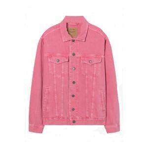 American Vintage Long Sleeved Oversized Jacket in Lychee