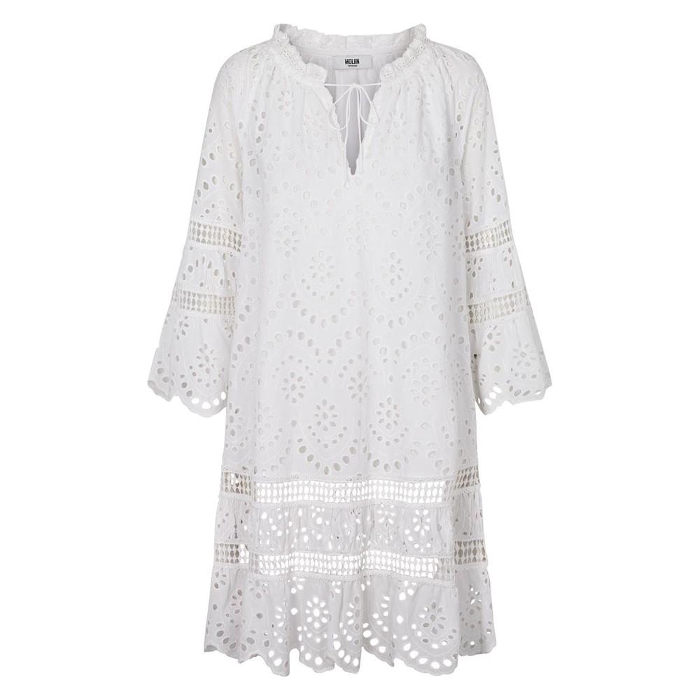 Moliin Isa Dress White White