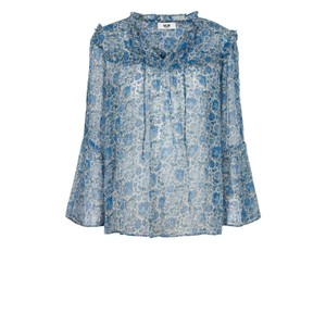 Moliin Fica French Blouse in French Blue