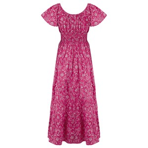 Pink City Prints Rah-rah Dress Spanish