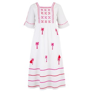 Pink City Prints South American Short Dress