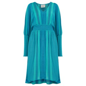 Cecilie Copenhagen Lorentina Dress in Blue and Turquoise