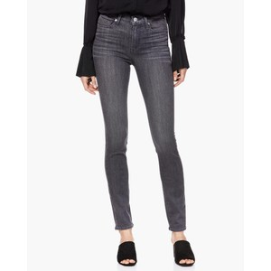 Paige Hoxton Ankle Denim Jeans in Grey Peaks