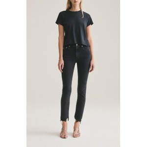 Agolde Toni Mid Rise Straight Jeans in Feral