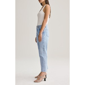 Agolde Parker Easy Straight Jeans in Swapmeet