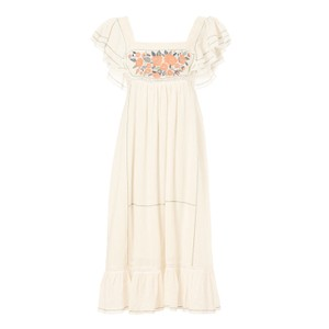 Mabe Alberta Embroidered Dress