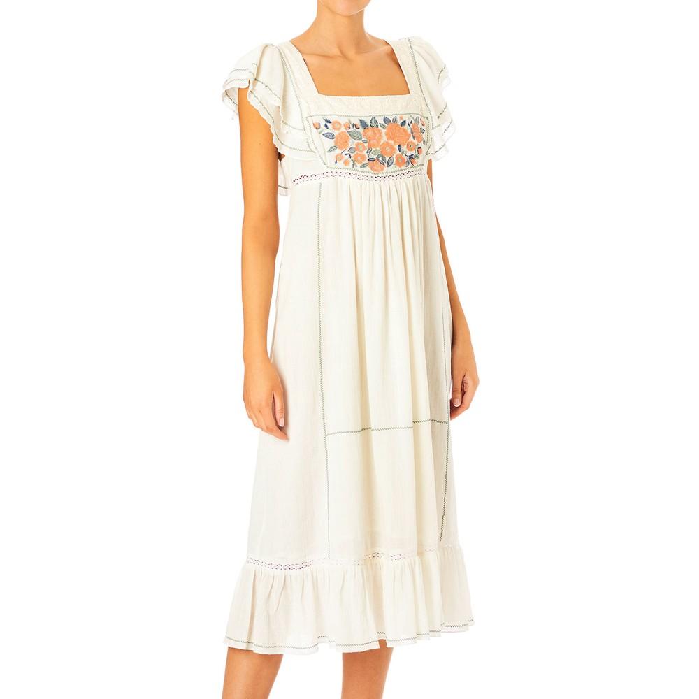 Mabe Alberta Embroidered Dress Multicoloured