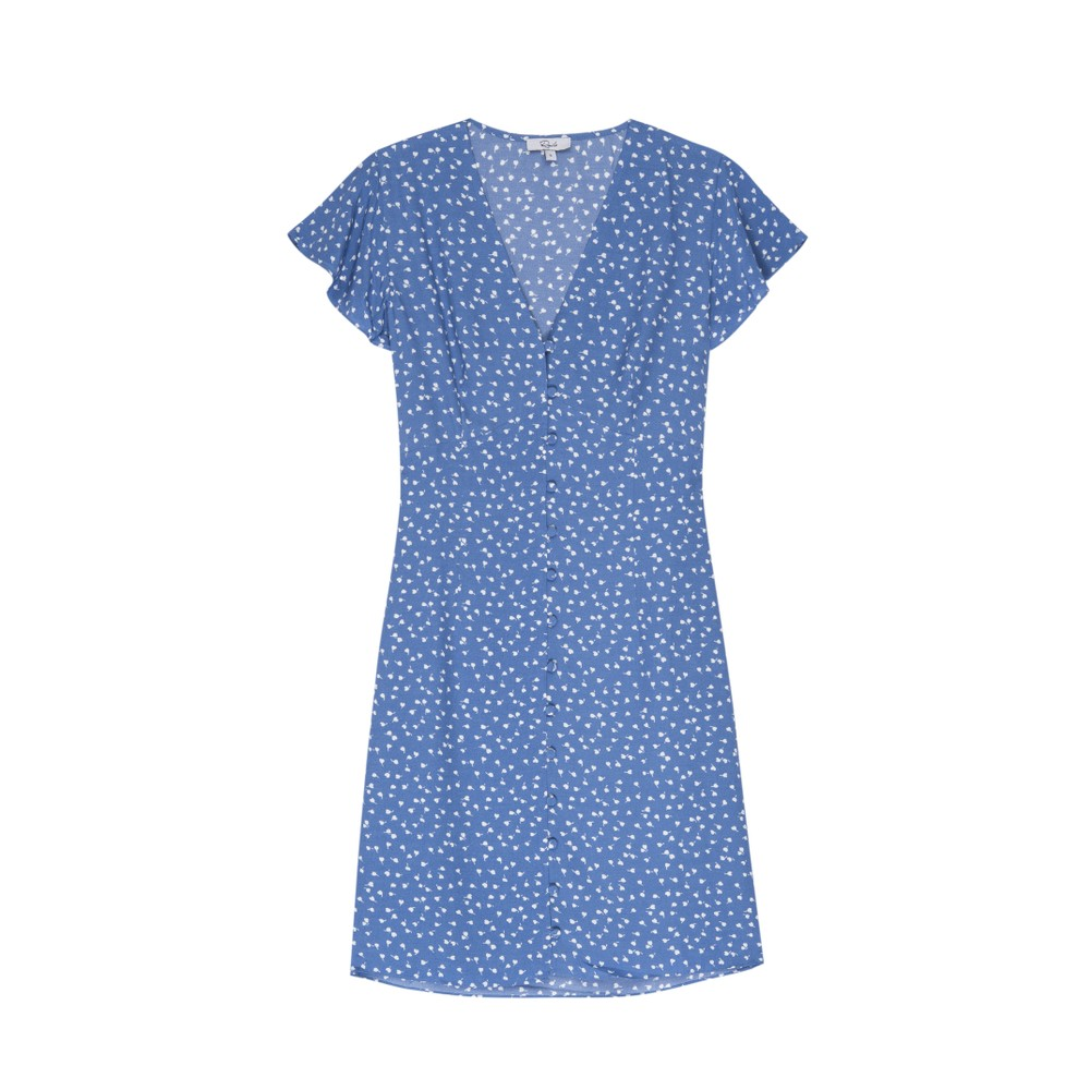 Rails Helena Dress in Blue Wisteria Blue