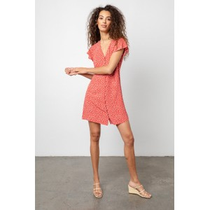 Rails Helena Dress in Carmine Daisies