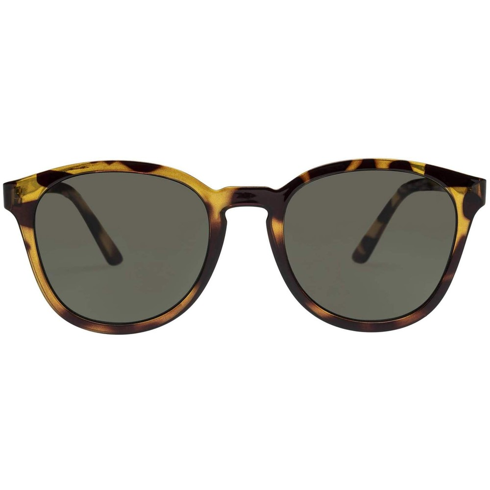 Le Specs Renegade Sunglasses in Syrup Tort Brown
