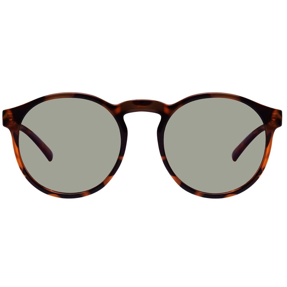 Le Specs Cubanos Sunglasses in Milky Tort Brown