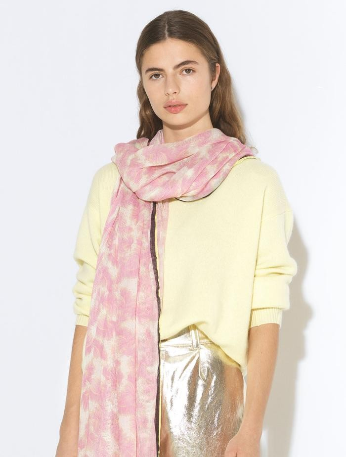 Becksondergaard Feather Moda Scarf in Pale Pink Pale Pink