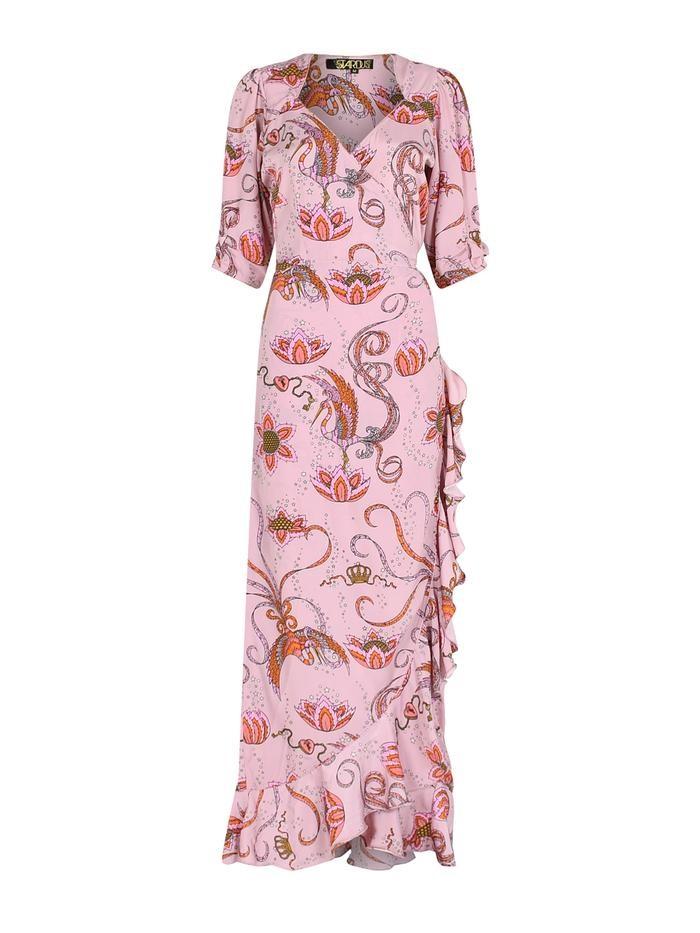 Stardust Sweetheart Flamenco Bird Dress Pink