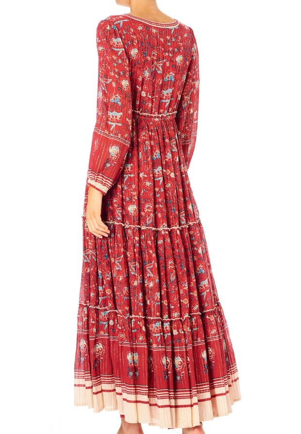 Mabe Sibel Maxi Dress Red