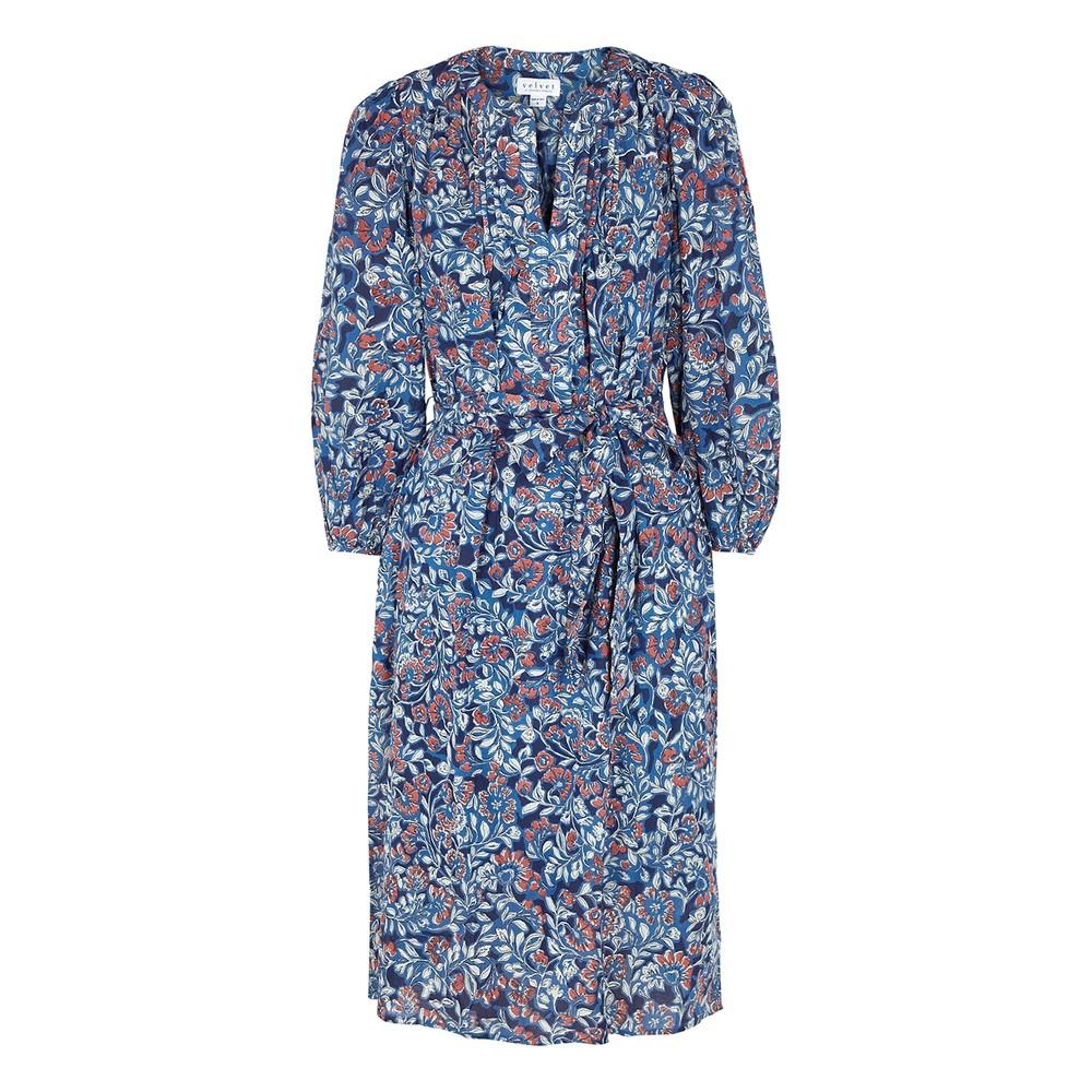 Velvet Beau Printed Dress Multicoloured