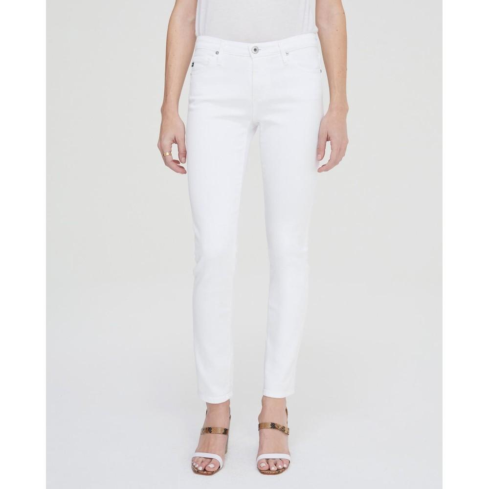 AG Jeans Prima Jeans in White White