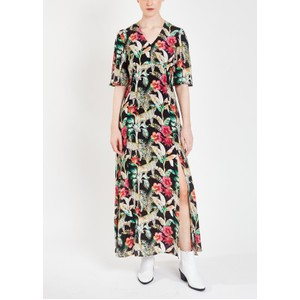 Pyrus Beatrice Printed Maxi Dress