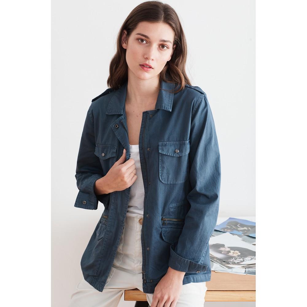 Velvet Ruby Jacket Blue