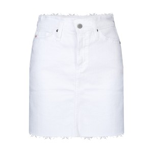 AG Jeans Vera Denim Skirt in White