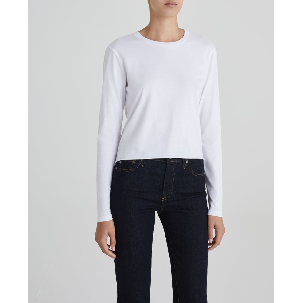 AG Jeans Tulla Twist Top White