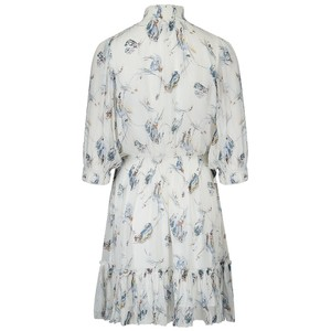 Joie Shima Silk Dress in Porcelain