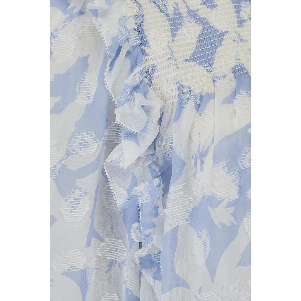 Joie Jamila Blouse in Eventide Blue