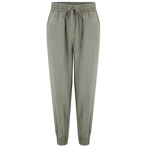 Bella Dahl Easy Jogger in Vintage Black  in KHAKI