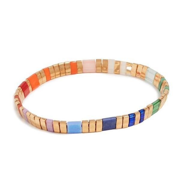 Shashi Tilu Bracelet, Jewel Multicoloured