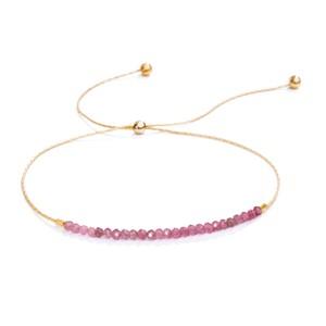 Shashi Natasha Slide, Pink Sapphire