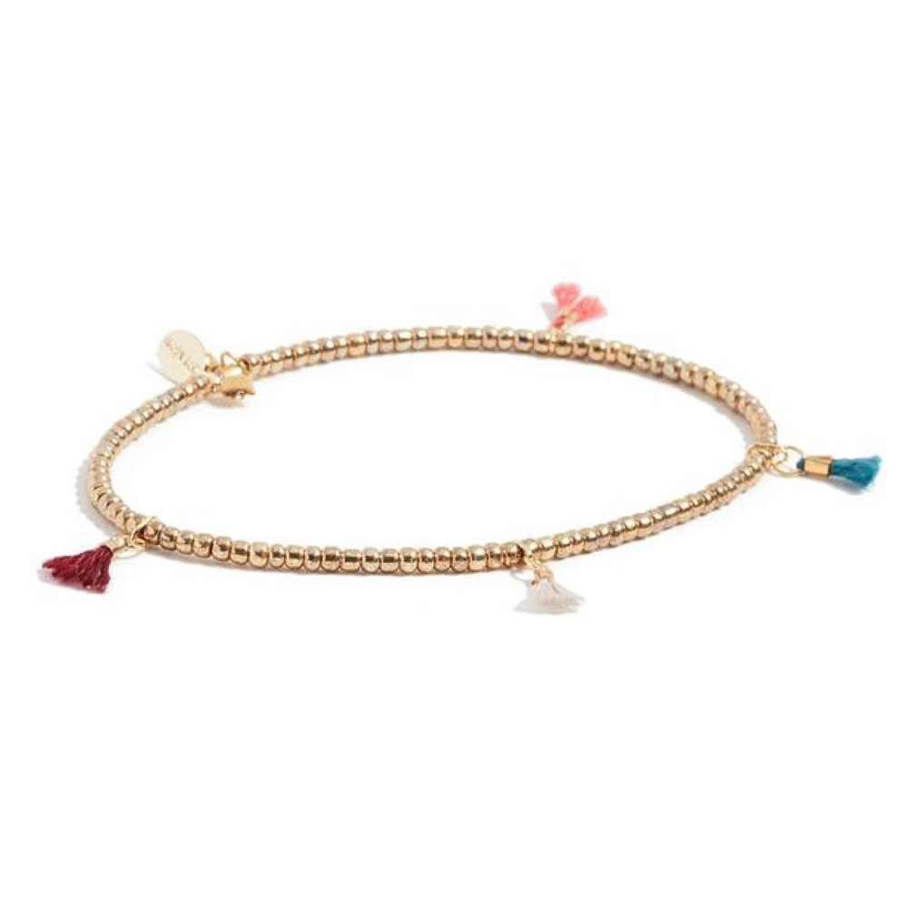 Shashi Lilu Bracelet in Gold Gold