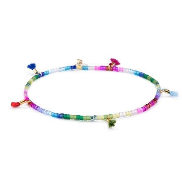 Shashi Lilu Bracelet, Jewel Rainbow Rainbow
