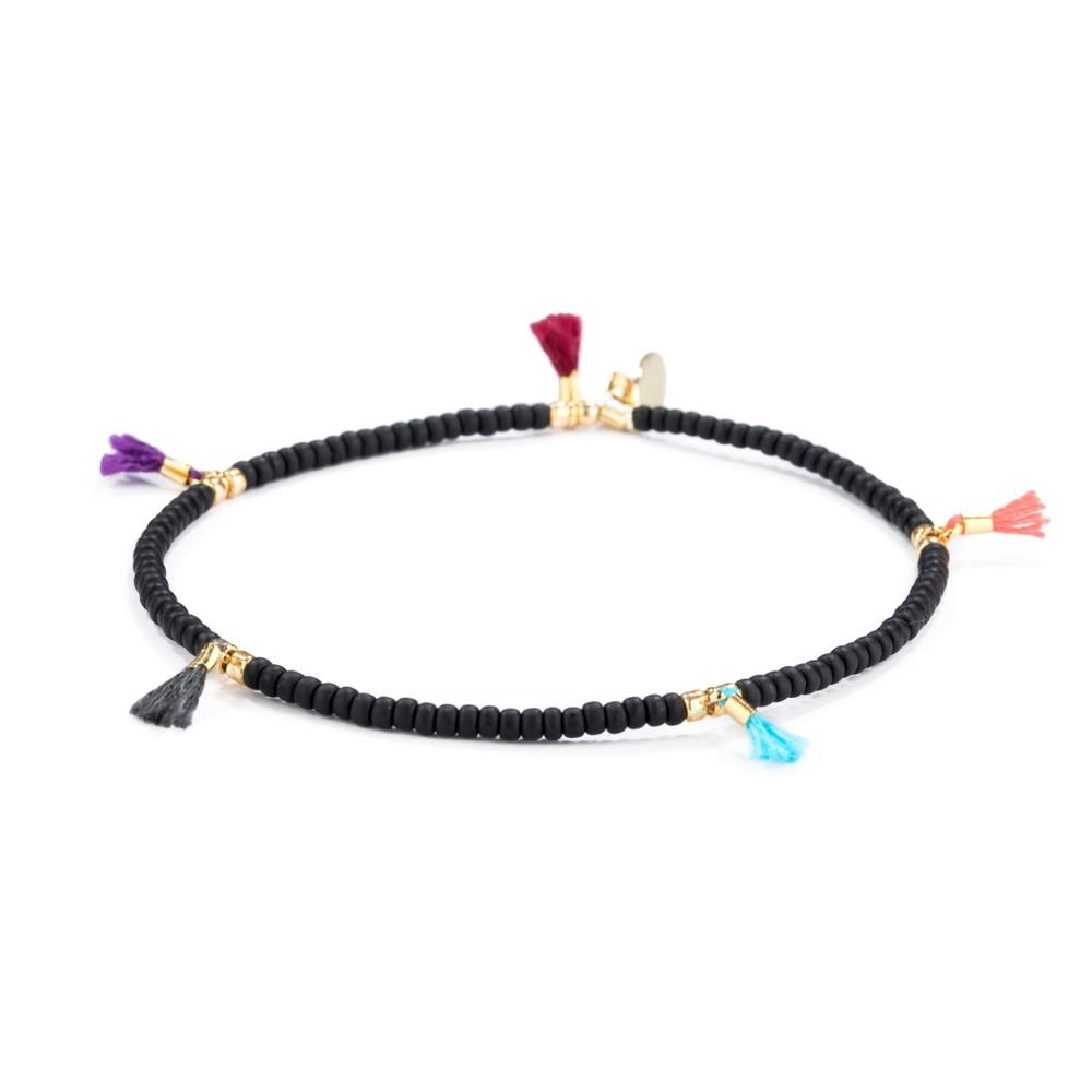 Shashi Lilu Bracelet in Black Black