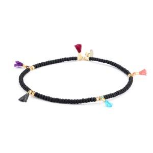 Shashi Lilu Bracelet, Black