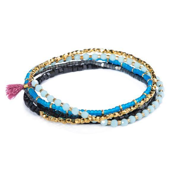 Shashi Jane Stretch Bracelet, Mars None