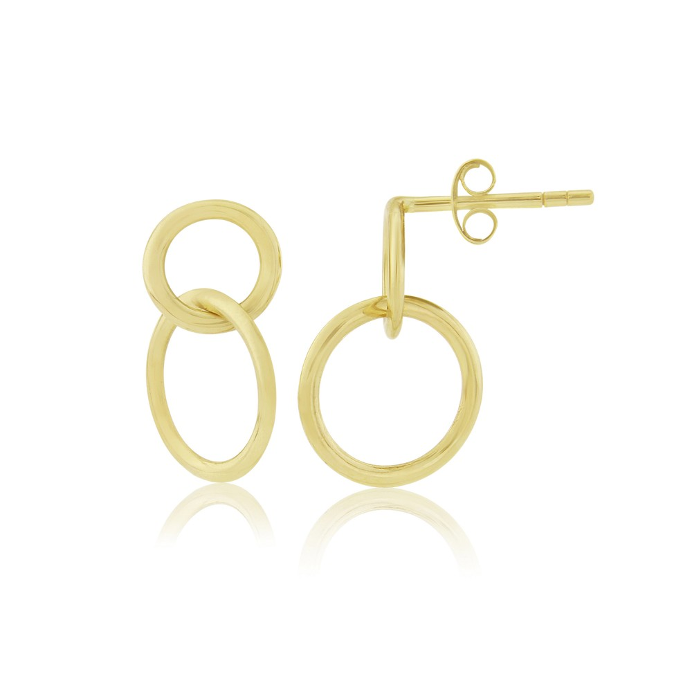 Auree Kelso Yellow Gold Earrings Gold