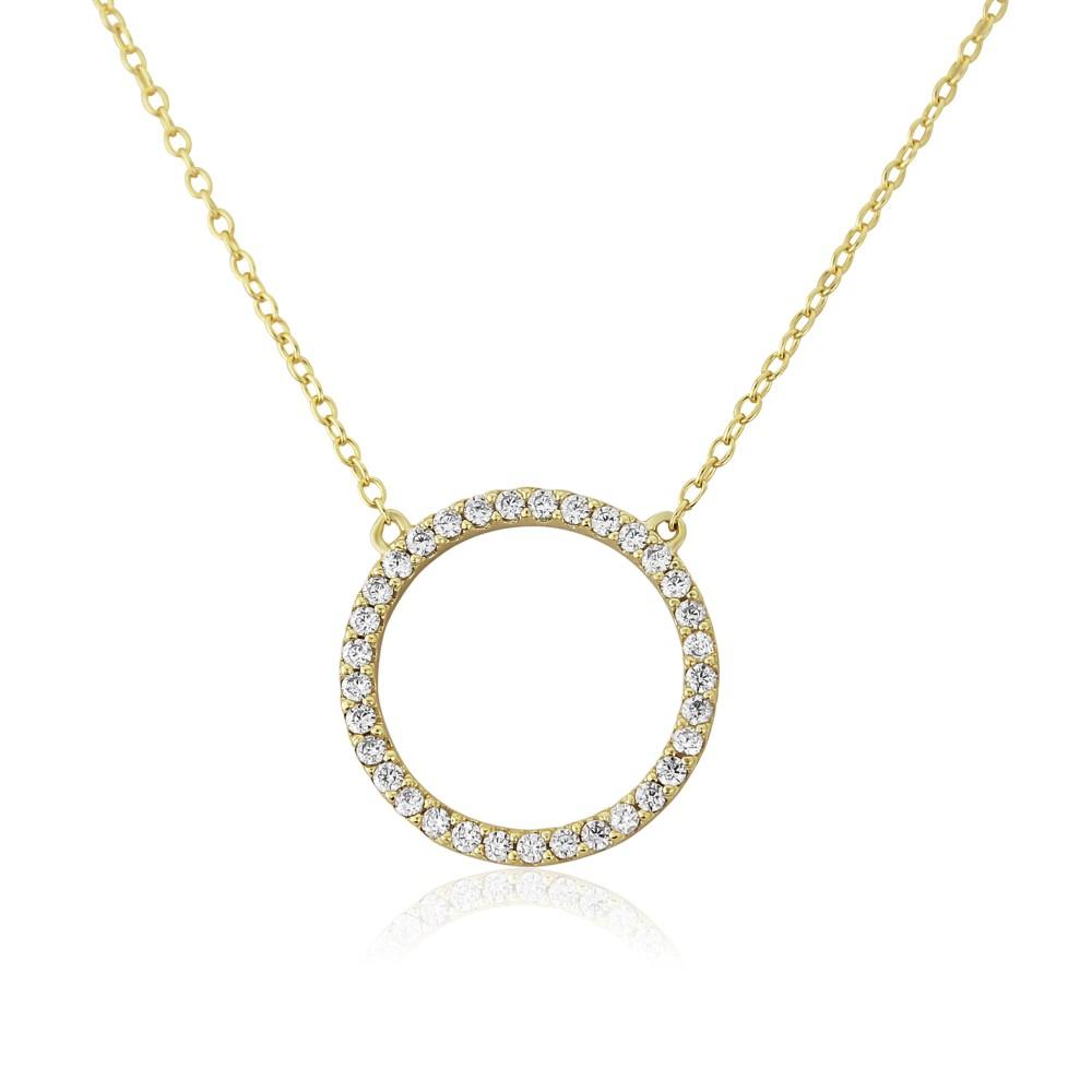Auree Chora Circle Necklace Gold