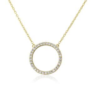 Auree Chora Circle Necklace
