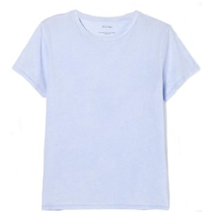 American Vintage Short Sleeve Round Necked Straight T Shirt