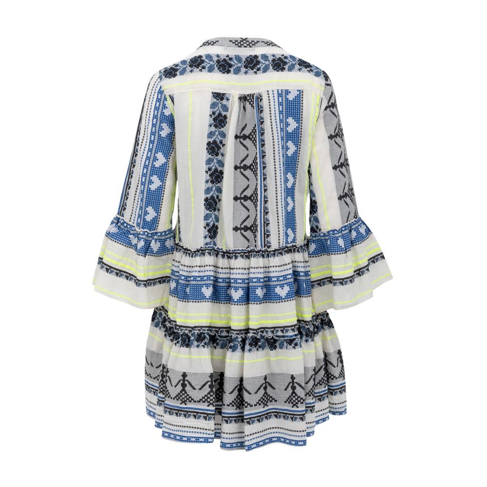 Devotion Ella Short Dress in Blue Blue