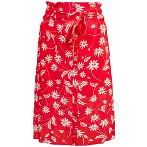 Pyrus Elise Printed Silk Skirt in Simple Flowers