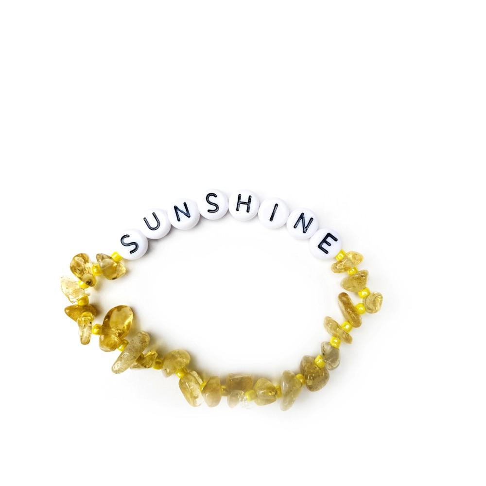 TBalance Sunshine Multi, Crystal Healing Bracelet Yellow