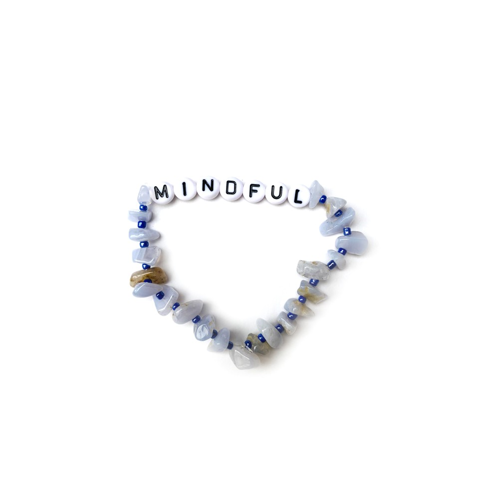 TBalance Mindful, Crystal Healing Bracelet Blue