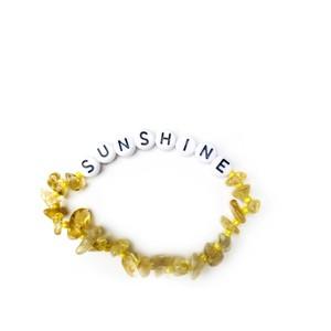 TBalance Sunshine, Crystal Healing Bracelet