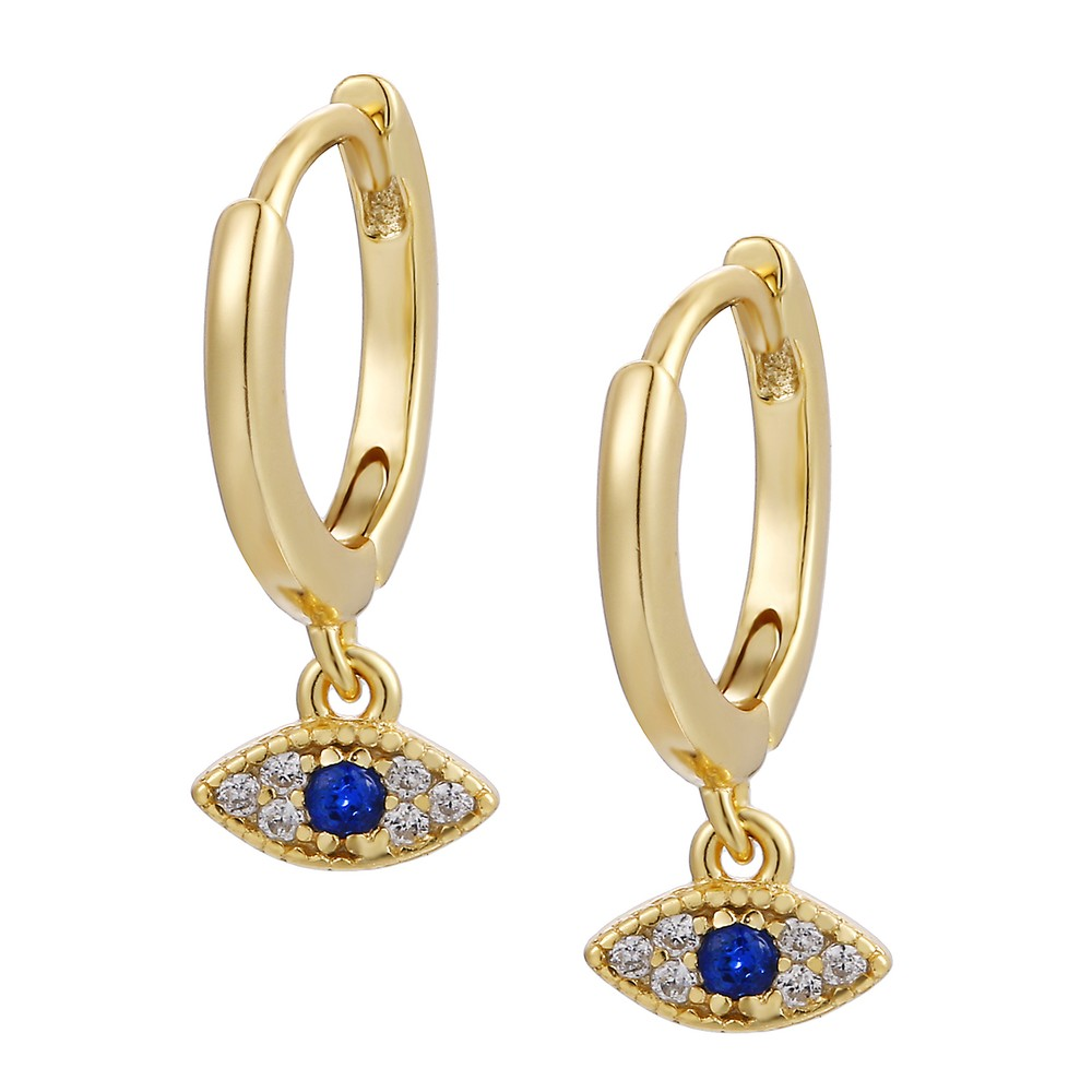 Celeste Starre Athens Earrings Gold